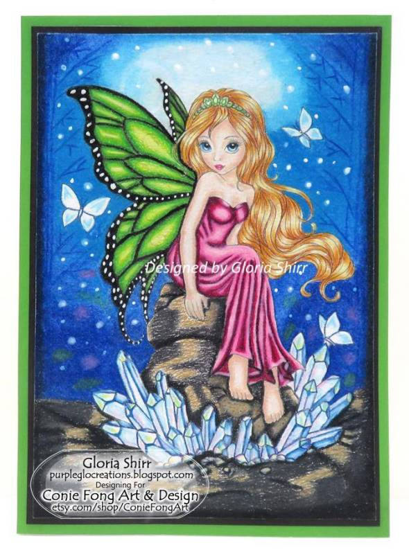 Featured Card - Winner at The Fairy and The Unicorn Challenge