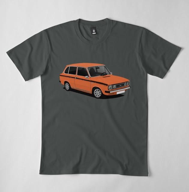 Retro DAF 66 1300 Marathon Combi - t-shirts