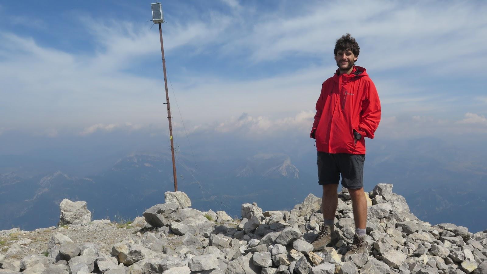 Peña Montañesa (2295 m) - Con botas y mochila