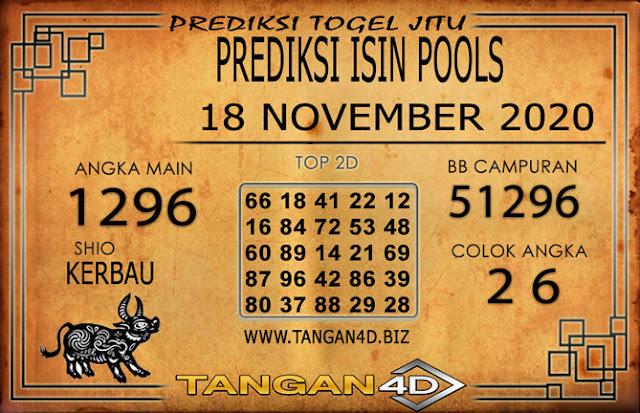 PREDIKSI TOGEL ISIN TANGAN4D 18 NOVEMBER 2020