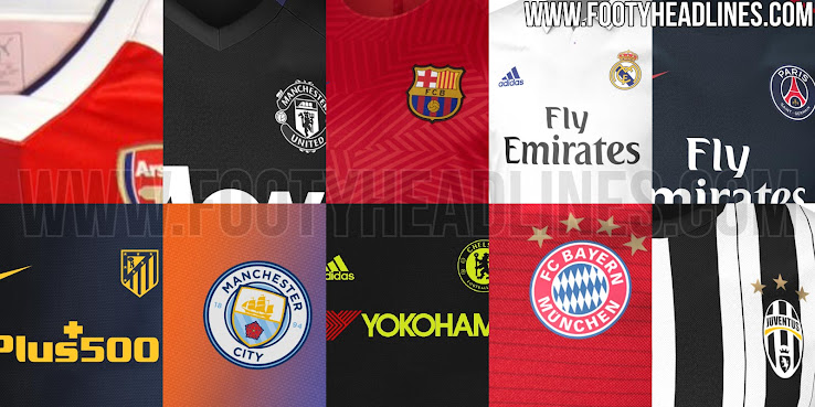 800634328 The 16-17 Kit Overview will be updated frequently with the latest 2016-17  shirt leaks