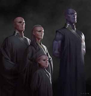 thanos family concept drawing