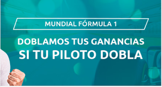Mondobets promo dobla ganancias F1 GP Sakhir 6-12-2020