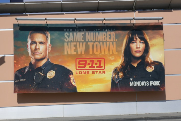 911 Lone Star season 1 billboard