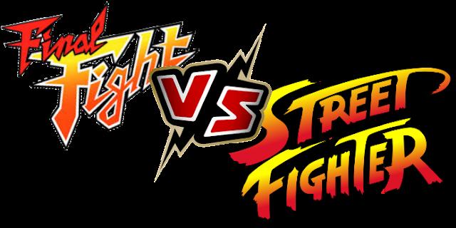 Final Fight Street Fighter