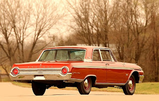 1962 Ford Galaxie 500 Rear