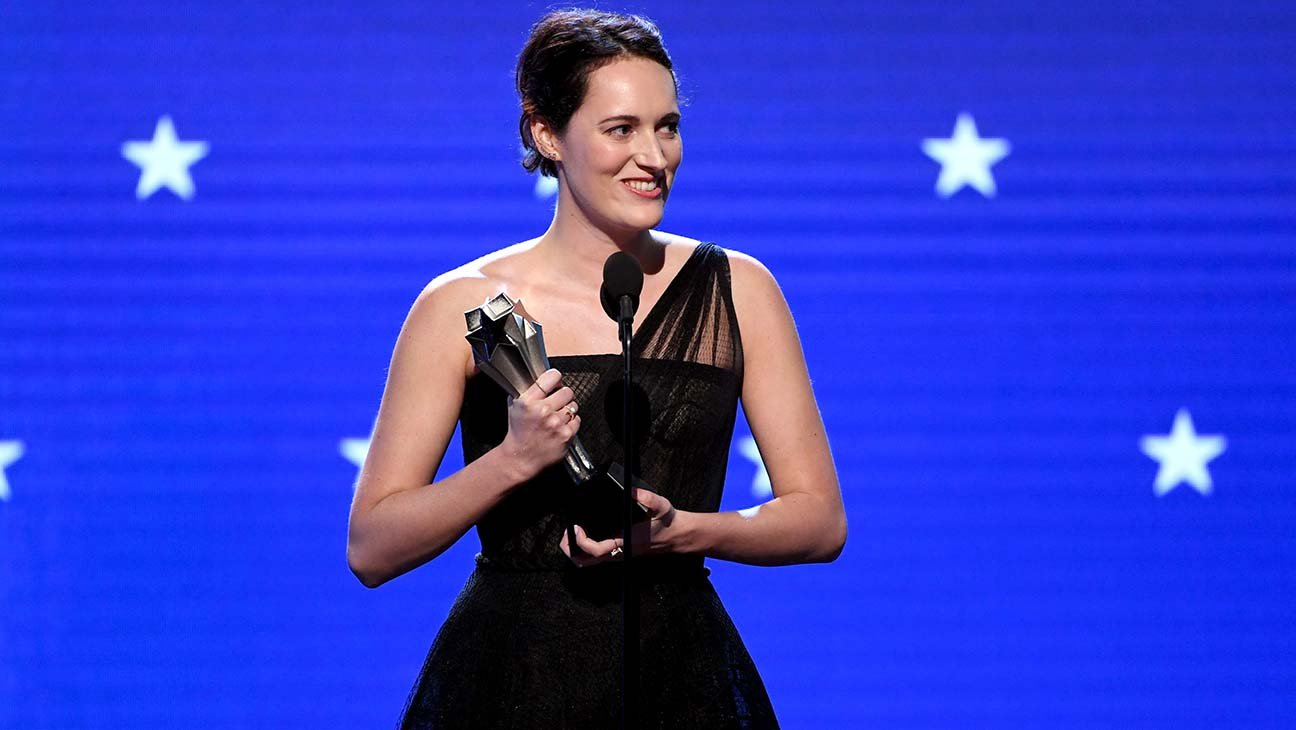 "Critics' Choice Awards: Phoebe Waller-Bridge Says J.Lo, ""Filthy"" Latin Words Inspired 'Fleabag' in Best Comedy Win Speech"
