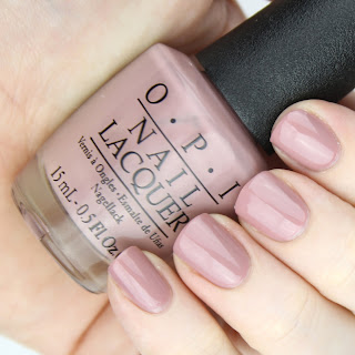 OPI Nail Lacquer in Tickle My France-y review nail swatch