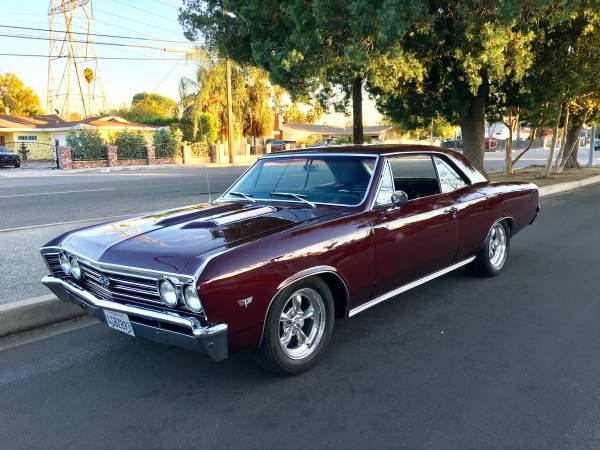 1967 Chevelle Ss Tribute Pro Touring Buy American Muscle Car