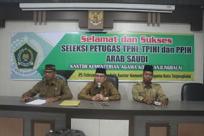 Kemenag Tanjungbalai Buka Rekrutmen Petugas Haji Tahun 1440 H/2019 M
