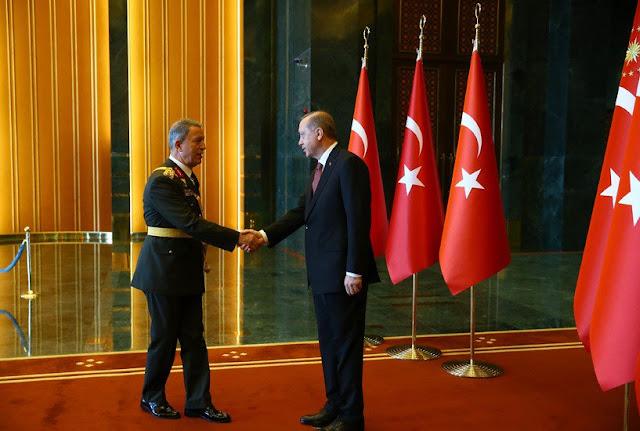 Κάποιος να μαζέψει, το ισλαμοφασιστικό αρπακτικό Ερντογάν