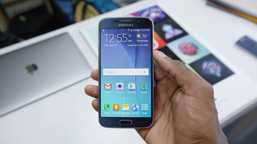Samsung Galaxy S6 firmware update