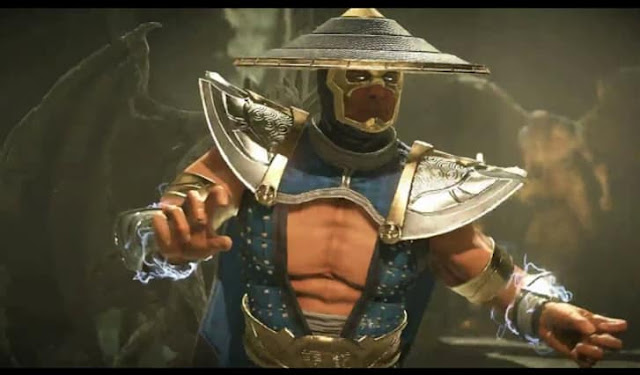 First screenshot from Raiden's gameplay trailer