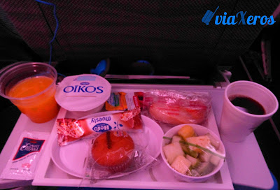 desayuno aerolíneas argentinas