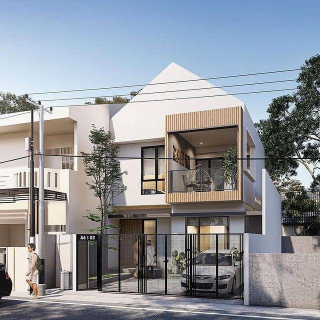 desain rumah minimalis emporio