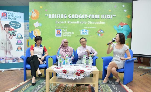 Raising Gadget-Free Kids, Norsheila Abdullah, Datuk Dr Zulkifli Ismail, Gladys Goh, Perspective Strategies, Nippon Paint Malaysia,