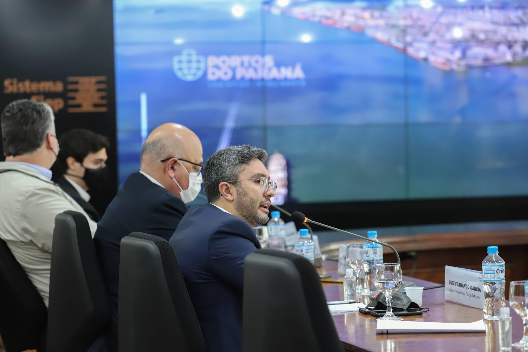 Integração porto-ferrovia é debatido entre os Governos Estadual, Federal e  indústrias