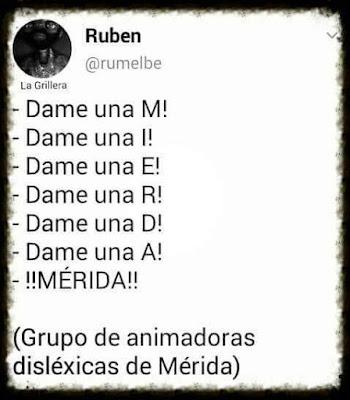 Grupo animadoras disléxicas Mérida