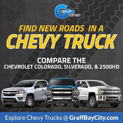 Chevrolet Truck Comparison at Graff Bay City