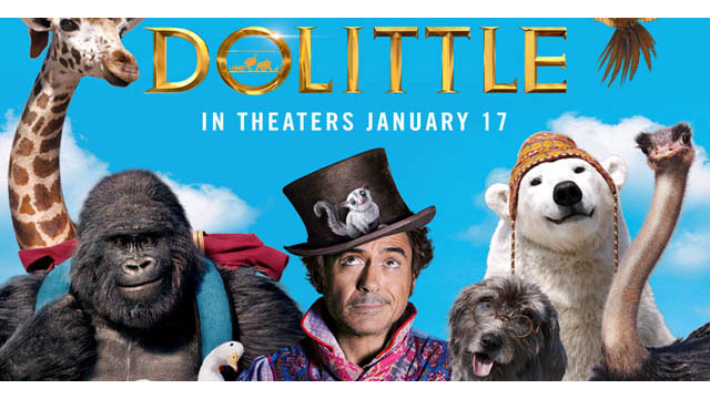 Dolittle (2020) Movie [Dual Audio] [ Hindi + English ] 720p HDRip Download