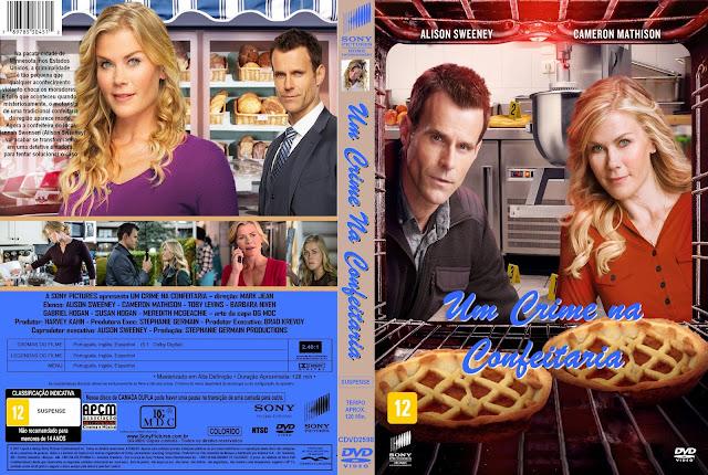 Capa DVD Um Crime Na Confeitaria