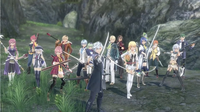 Trailers of Cold Steel IV cast weapons out anime swordsman