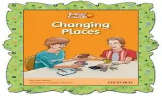 اقوى شيتات اسئلة على قصة Changing places مع الترجمة واجابتها النموذجية