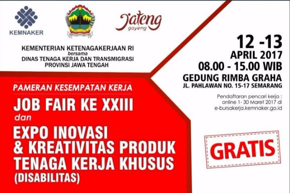 Dinas Tenaga Kerja & Transmigrasi - Provinsi Jawa Tengah