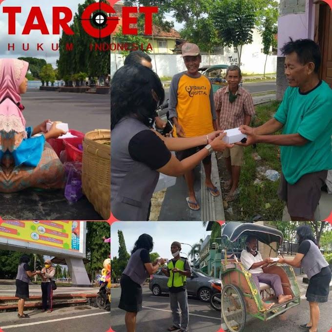 Syukuran Penetapan Bupati - Wakil Bupati Blora di Tengah Pandemi, Relawan ARTYS Berbagi