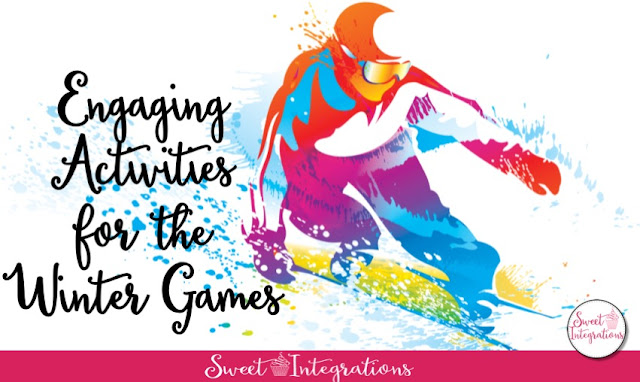 Are you ready for the winter games? I've provided engaging activities for your students to learn while enjoying all the winter sport events. These activities are great for third, fourth, and fifth grades.