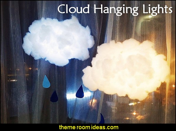 cloud hanging lights Cloud Shape Lamp floating cloud led chandelier White Clouds Chandelier Light