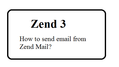 How to send email from zend framework 3? | Web Technology Experts Notes