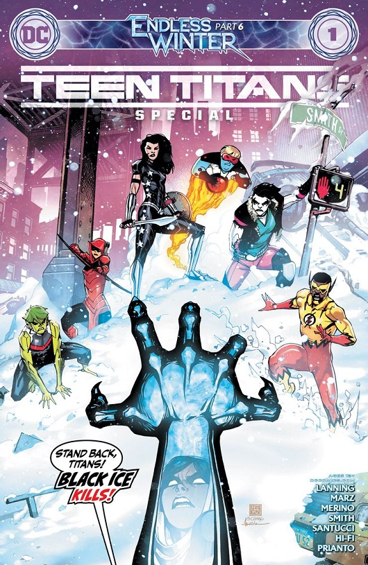 Cover of Teen Titans: Endless Winter Special #1