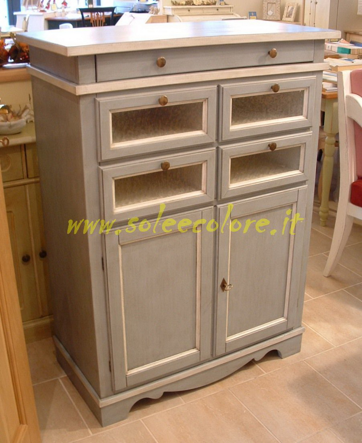 Cucina Mobile Per Feste Arredamento Country Dispense Cucina Country