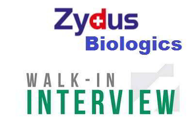 Zydus Biologics urgent job openings for Quality Control/ Manufacturing (Upstream/ Downstream)