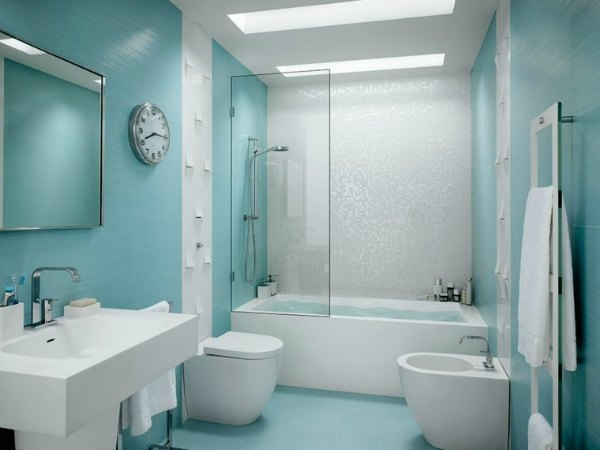 15 ideas originales para decorar paredes de baños   decoracion en ...