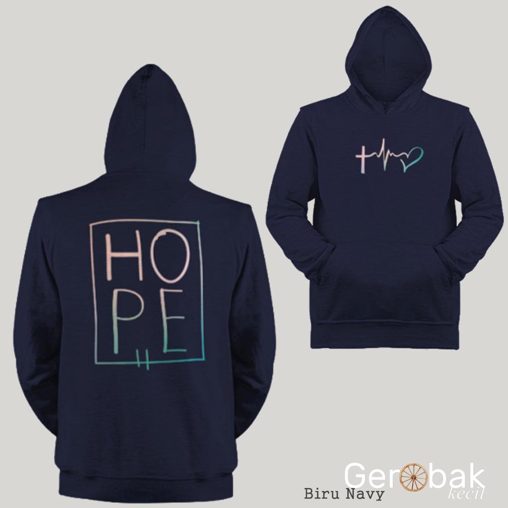 Jual Jaket Hoodie Pria HOPE Premium
