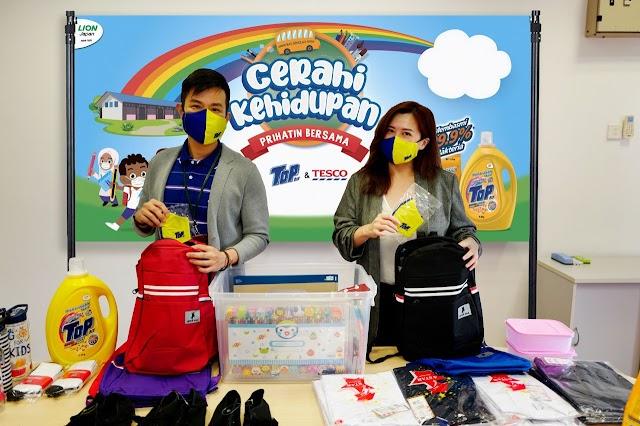 Cerahi Kehidupan Bersama TOP Campaign Empowers 420 Orang Asli Students with Back-to-School Essentials.