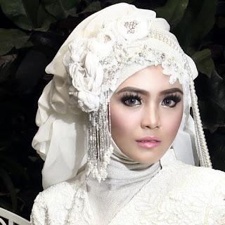 Contoh Hijab Pengantin Muslimah