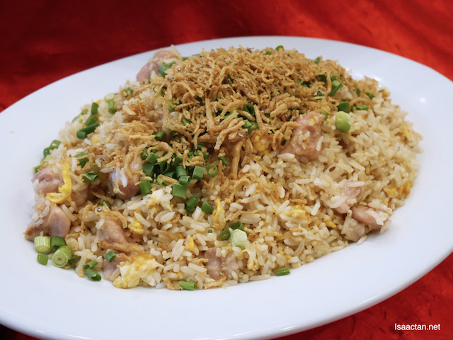 Fried Rice with Yam Cube