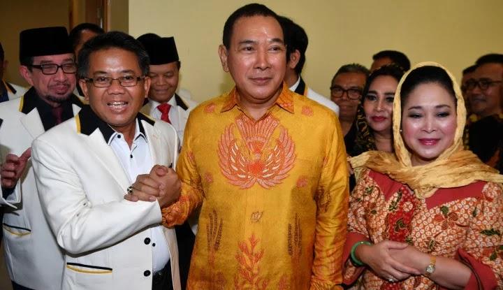 Duh!! Partai Tommy Soeharto Lagi Panas...