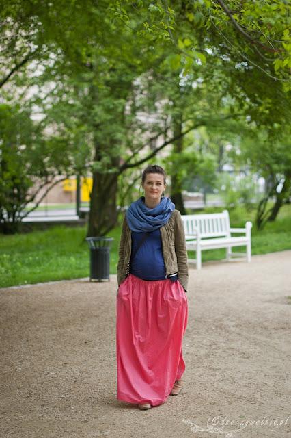 stylizacja w ciąży