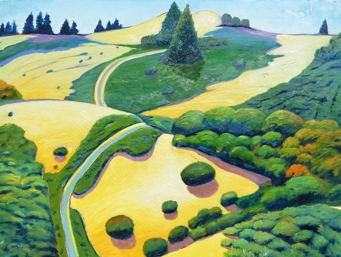 Пейзажи. Gary Coleman 17