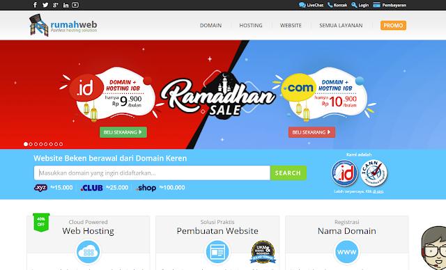 cara membeli domain di blogger