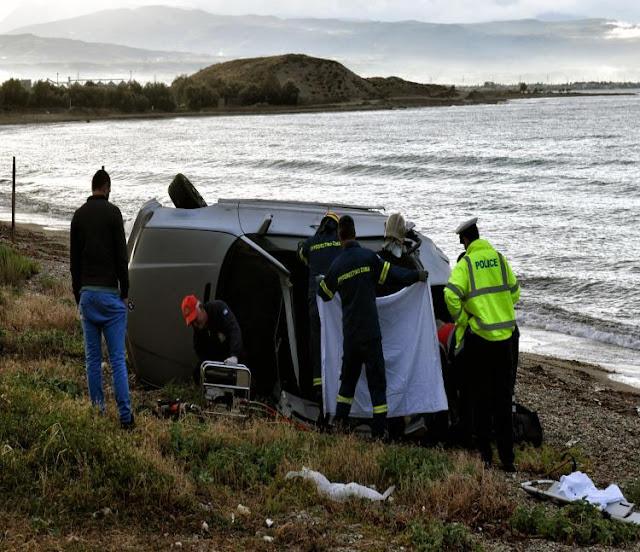 Νεκρός οδηγός μετά από σφοδρή σύγκρουση σε κολόνα στην Κόρινθο