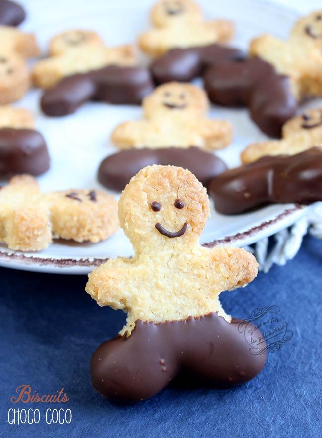 biscuits chocolat noix de coco