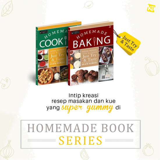 Pengumuman Pemenang Giveaway Buku Homemade Baking & Homemade Cooking JTT