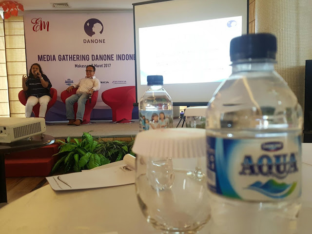 Catatan di Acara Media Gathering Danone Indonesia Catatan Evhy