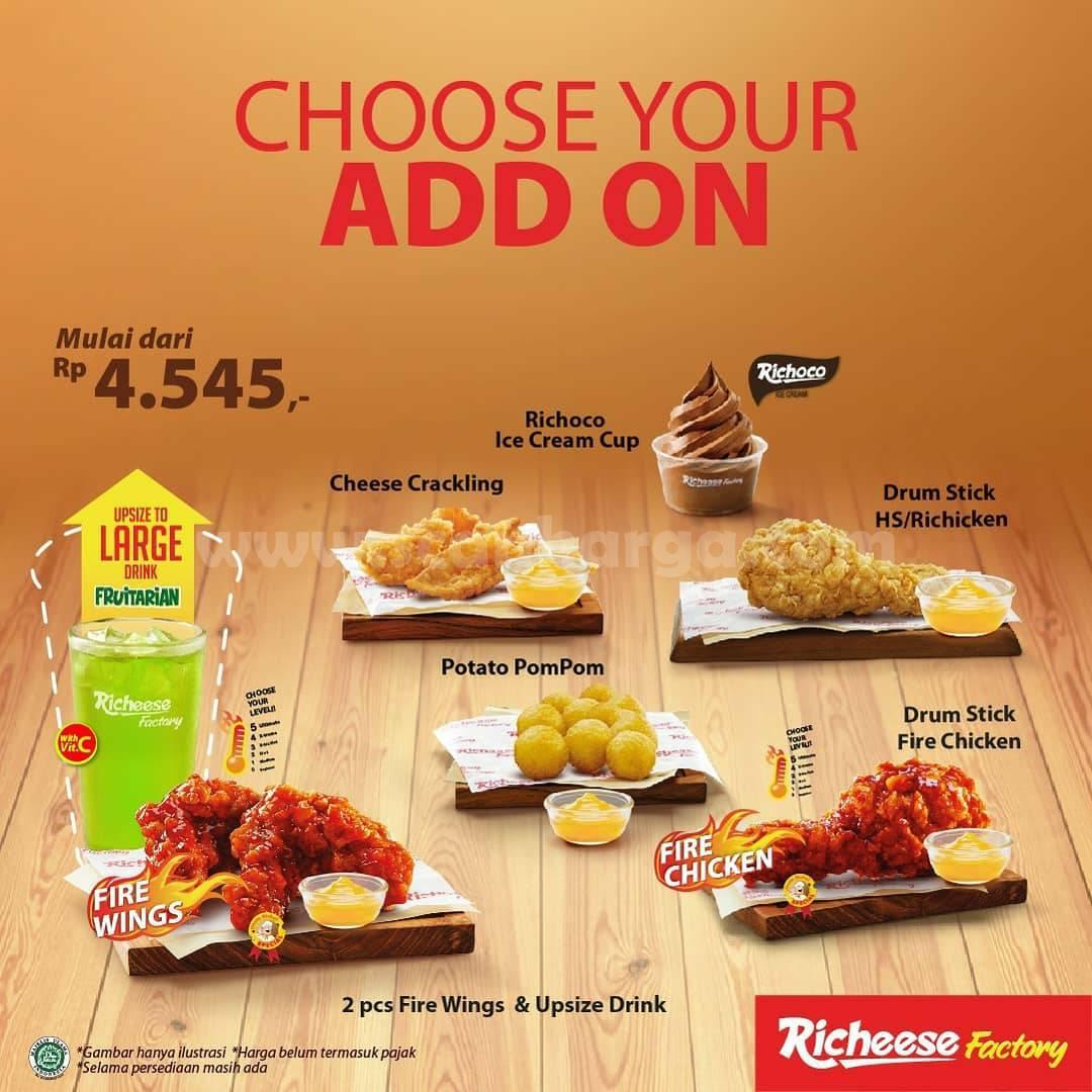 RICHEESE FACTORY SPECIAL PRICE! Promo Khusus Hari Ini