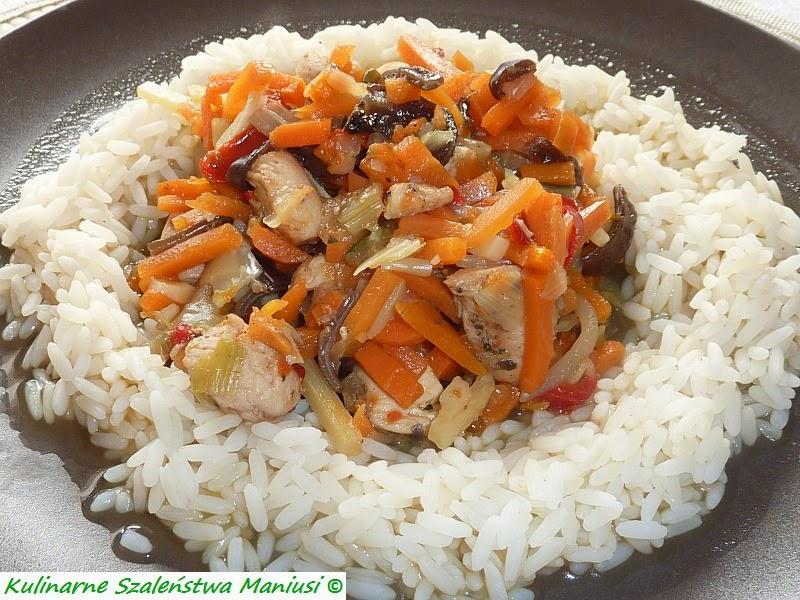 Kurczak Z Mieszanką Chińską Kulinarna Maniusia Blog